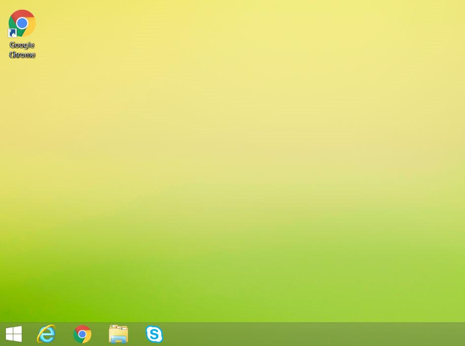 Desktop 8.1